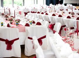 Tischdeko (Hochzeit)