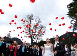 Luftballons (Hochzeit)